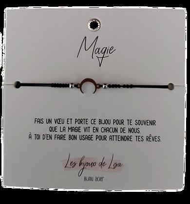 Bracelet message Magie