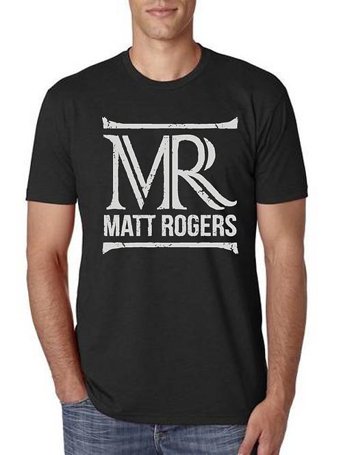 Super Soft Matt Rogers Black Tee