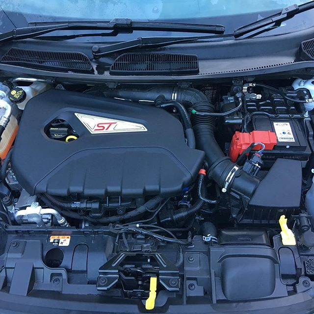 Quick engine detail yesterday! #ford #fiesta #st #engine #st180 #detail #care #car