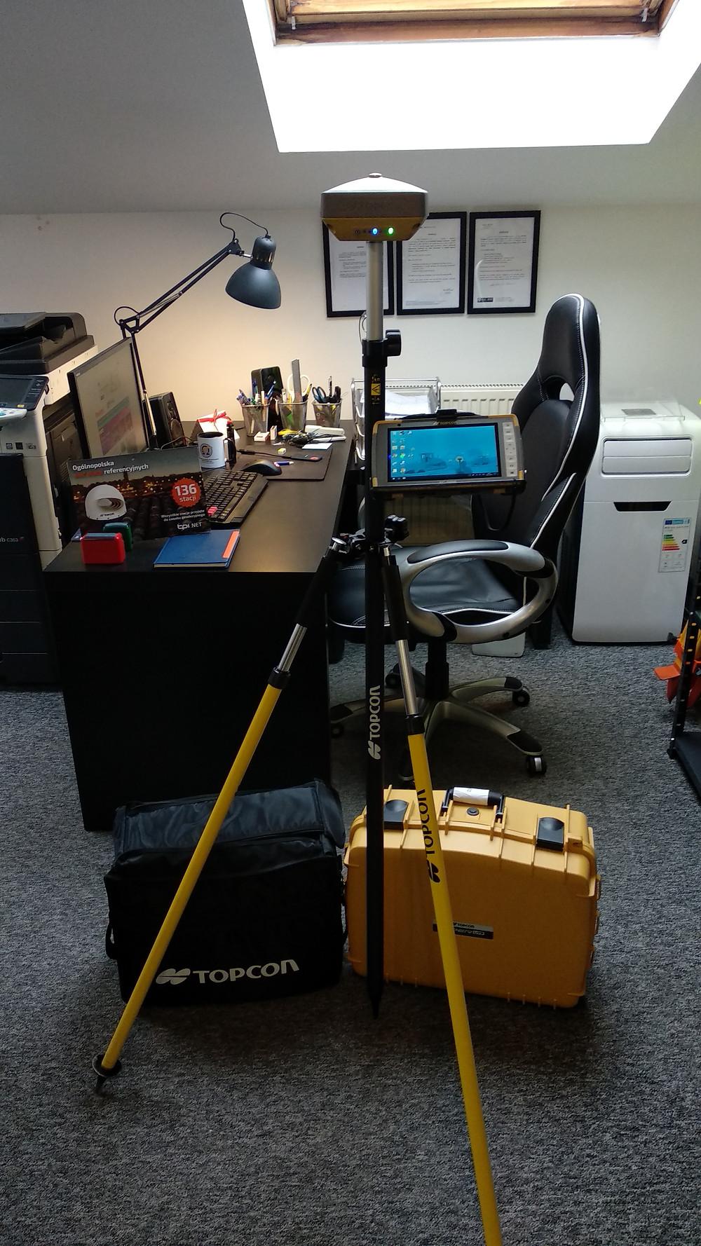 Topcon Hiper VR, FC-5000