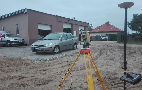 Inwenaryzacja powykonawcza warsztatu samochodowego w Dąbrówkach koło Wasilkowa