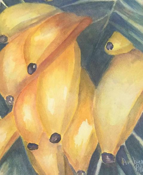 Going Bananas, Watercolor $250.00_edited