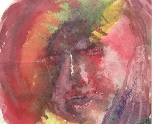 And Then She Got Angry, Acrylic $100.00_