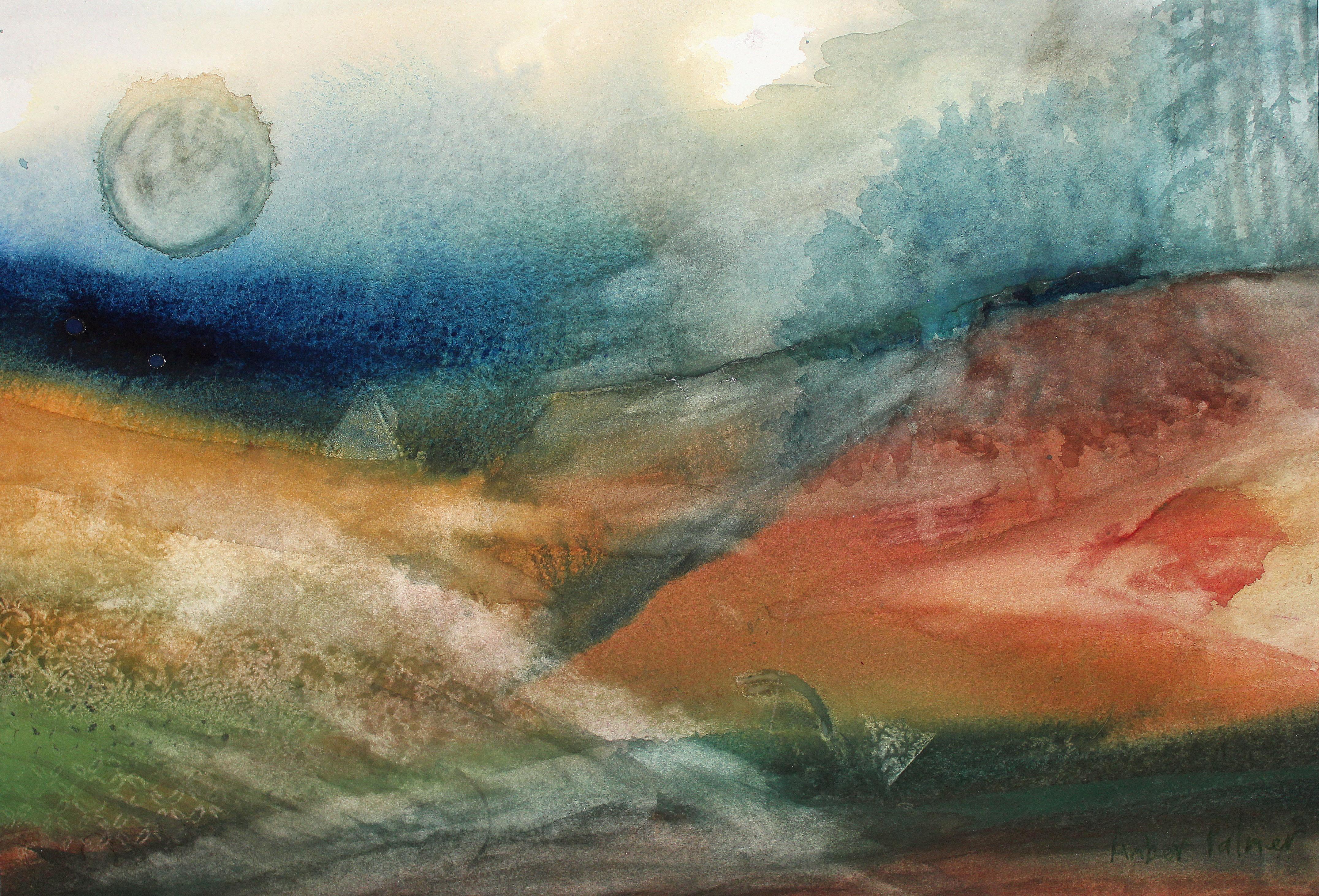 Dreamscape watercolor 16x20 $200