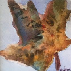 Calico Leaf, Watercolor $35_edited
