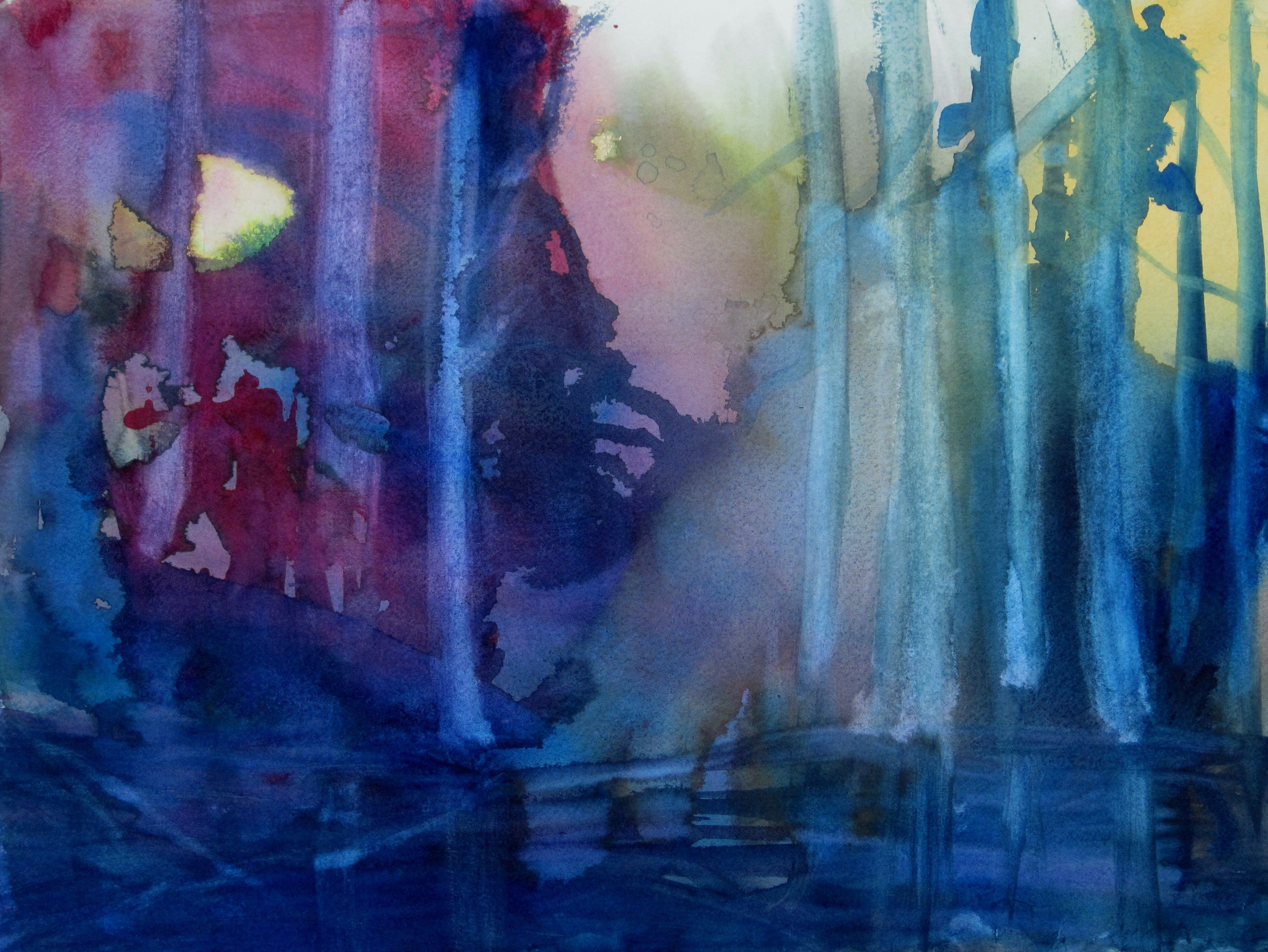 Enchanted Forest wATERCOLOR $350