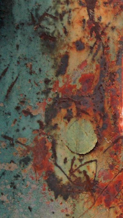 Abstract car, Mixed media