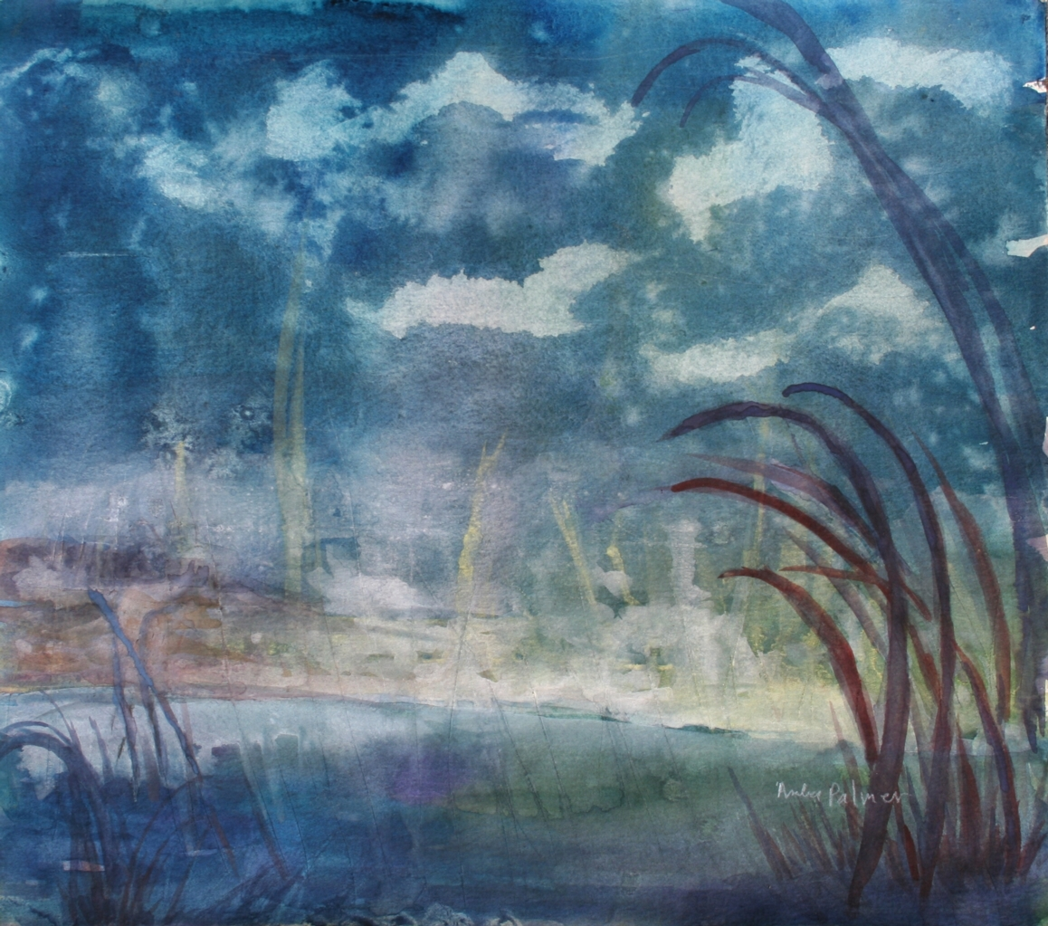 Early Morning Marsh WATERCOLOR SOLD