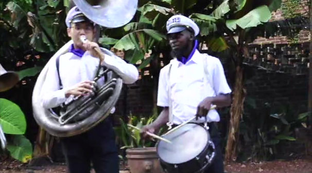 Brass Band New Orleans PARIGI plays St. James Infirmary in the New Orleans Brass Band style of music.