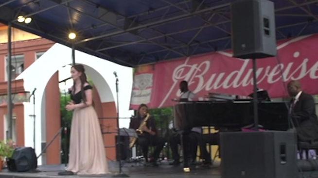 Italian Folk songs with New Orleans Brass Band PARIGI