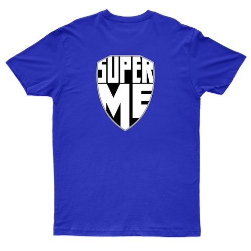 SuperMe t-shirt - Blue
