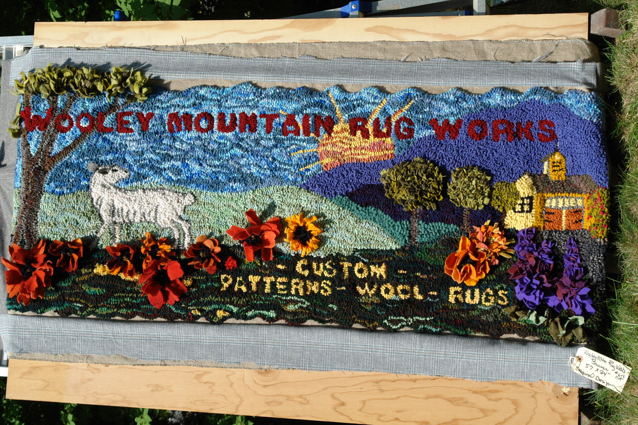 Wooley Mountain Rug Works Banner