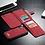 Thumbnail: iPhone Multi-function Magnetic Flip Zipper Wallet Case