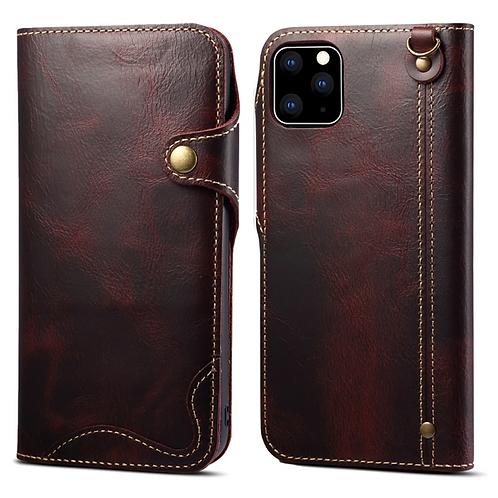 iPhone Vintage Genuine leather wallet case
