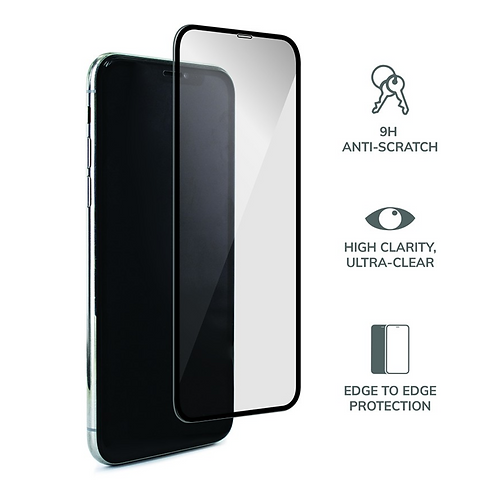 iPhone Full covered Temper Glass Screen Protectors