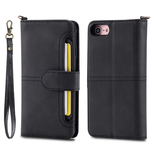 iPhone 2 in 1 wallet case with extra Pokect
