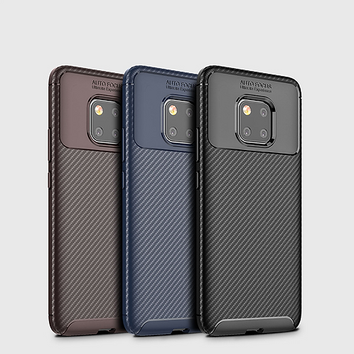 Fibre Armor back case for Huawei Mate 20 Pro and Y6/ Y7 Pro