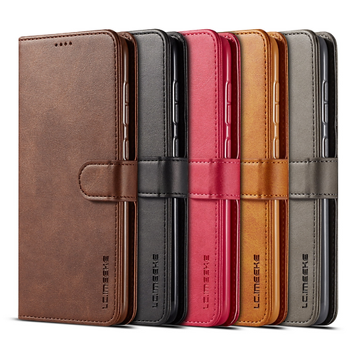 Notebook style wallet case - LC.IMEEKE for Huawei 2i and Y5 2019