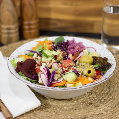 Tips to make your gut-healthy salad!