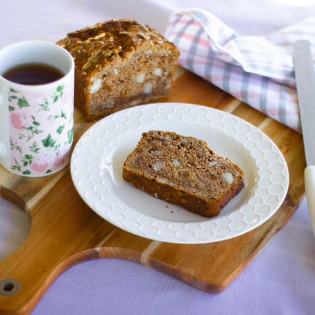 Banana, Fig and Nut Bread