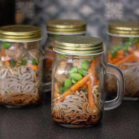 Soba Noodle Jars