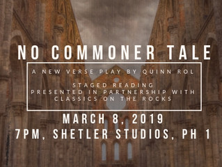 No Commoner Tale: Interview with the Playwright, Dramaturg, and Director