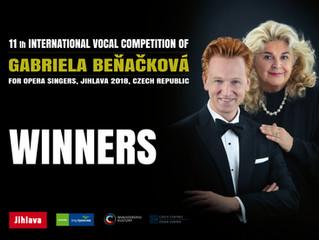 Vítězové soutěže 2018