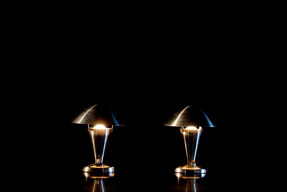 lampes champignon restaurées par capture d'univers