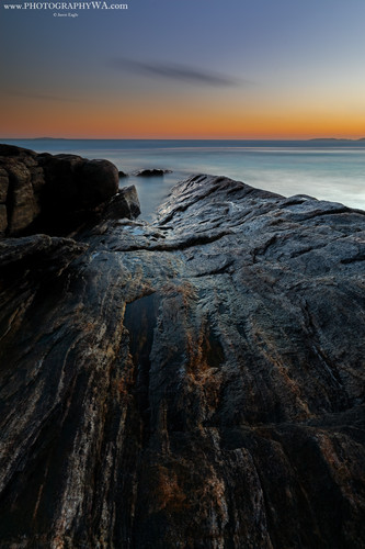 Esperance BlackRocks Sunset