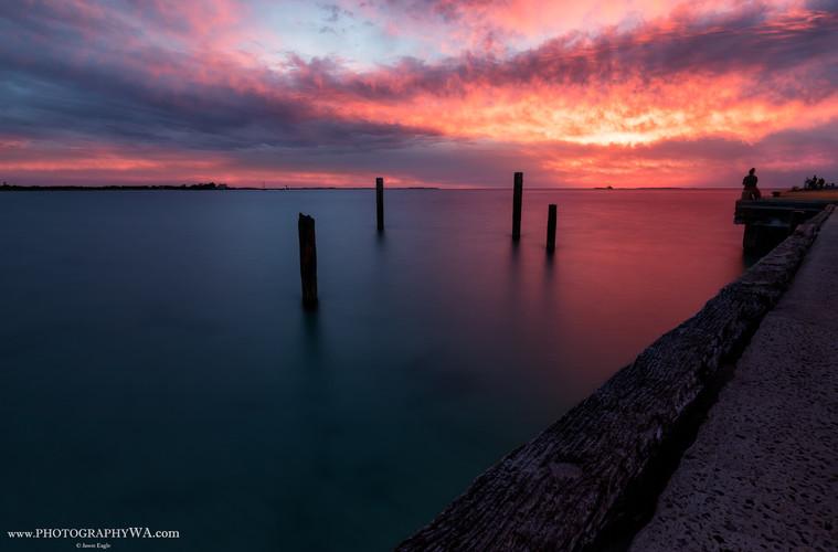 Woodman Point Sunset
