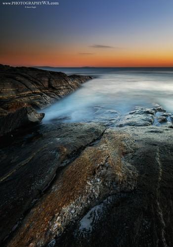 Esperance BeachRocks Sunset