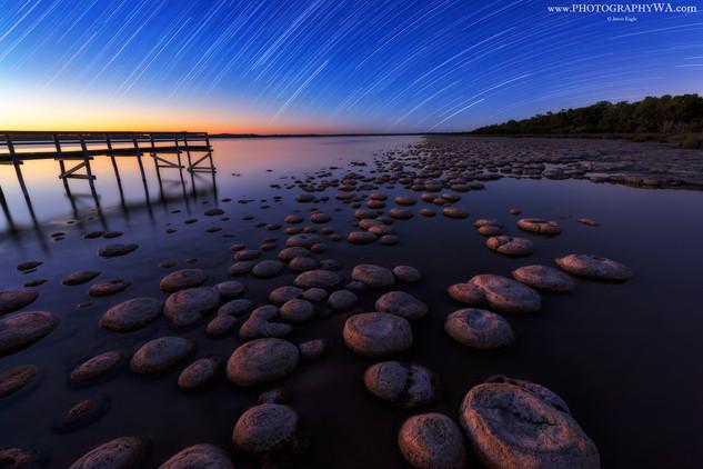 Lake Clifton Sunset & StarTrail