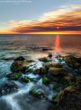CY Rocks Sunset