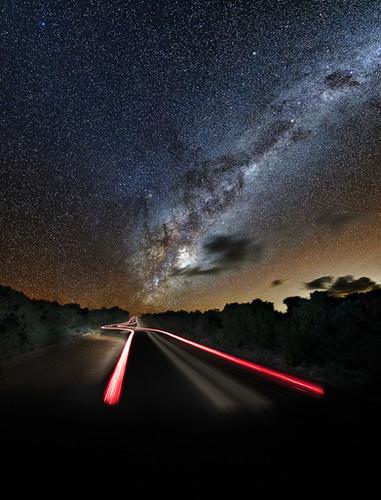 Warp Speed Milky Way