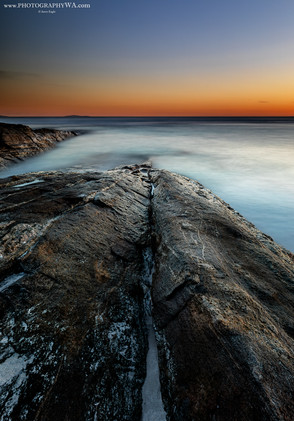 Esperance Black BeachRocks Sunset