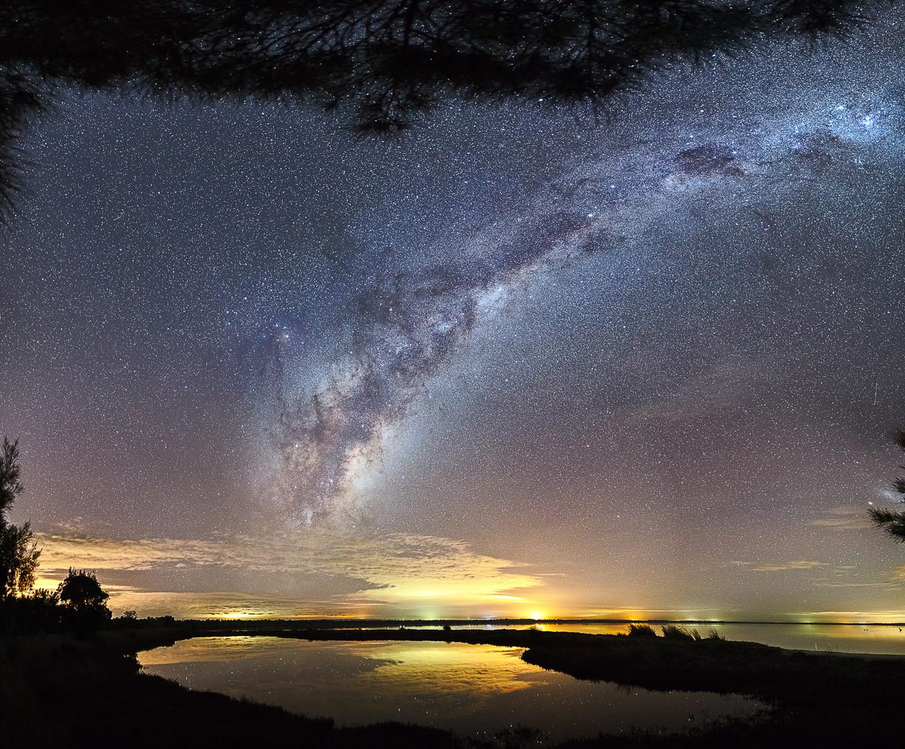 Heron Point Milky Way