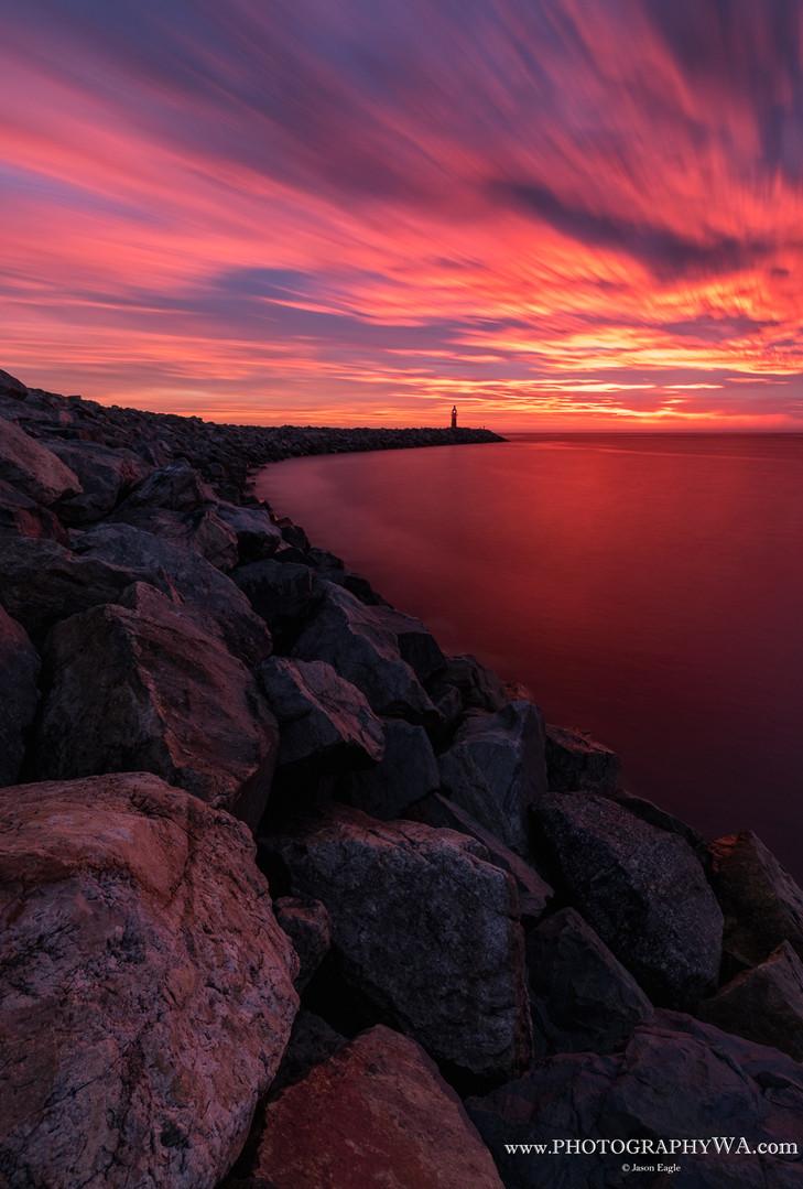 NorthMole Sunset