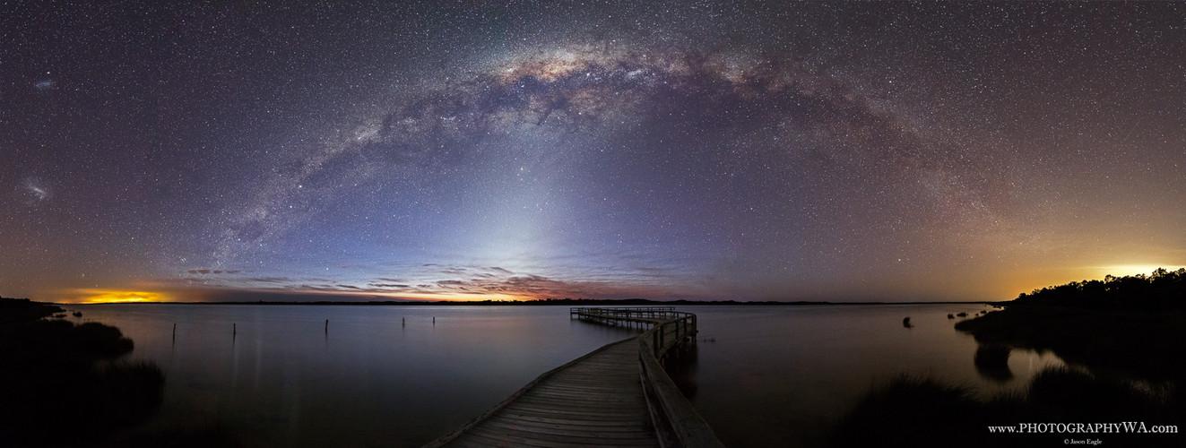 Lake Clifton Milky Way