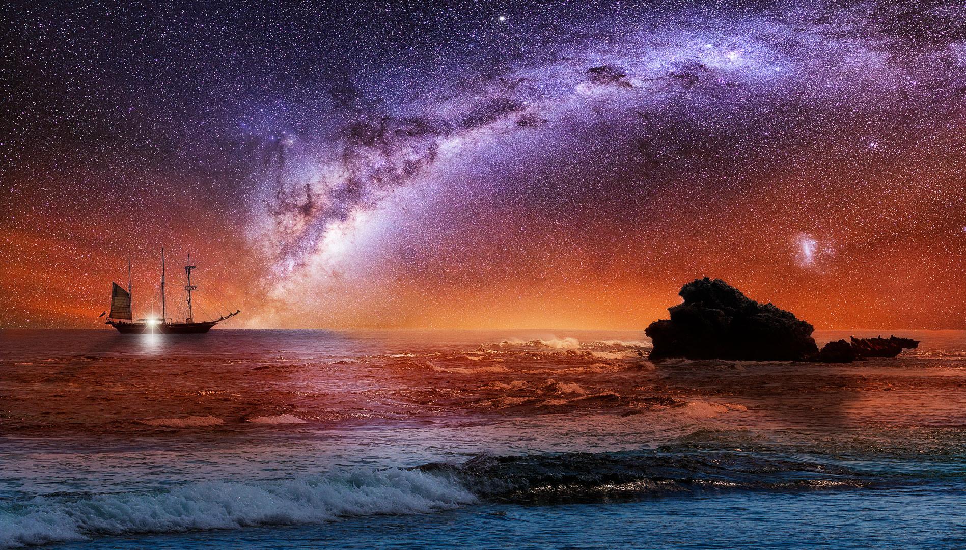 Composite Milky Way