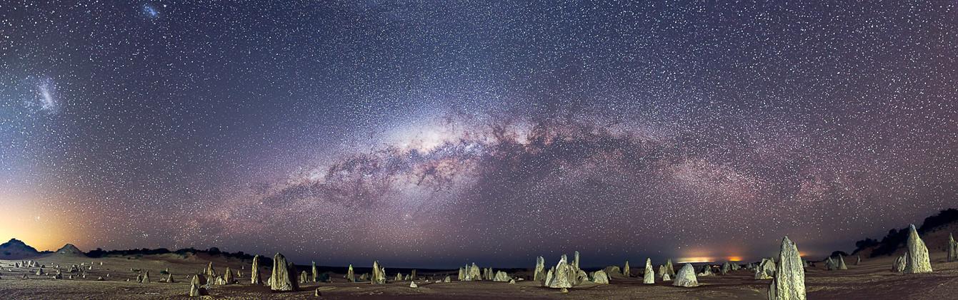 Pinnacles Full Milky Way