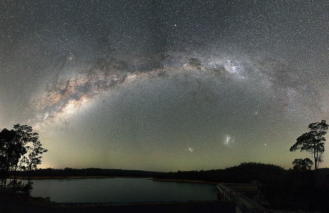 Wellington Dam Milky Way