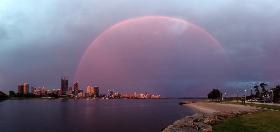 Perth City Rainbow