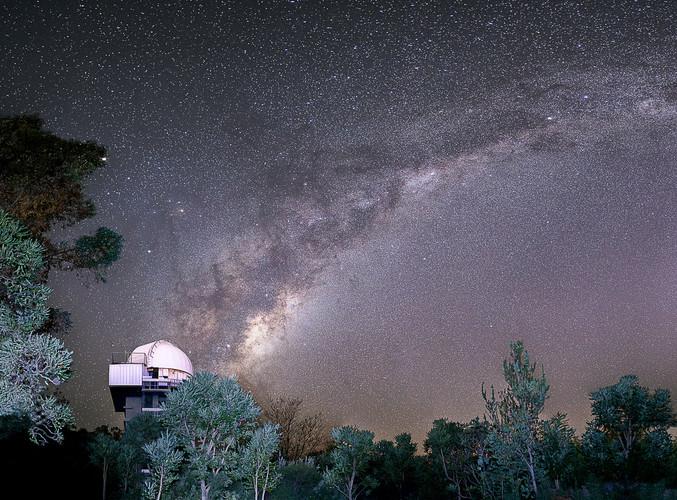 Observatory Milky Way