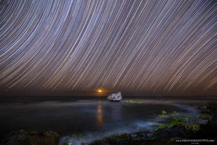 Point Peron Star Trail