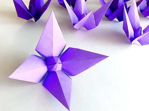 Origami Belladonna ::: 12 pieces