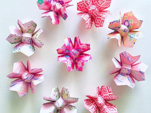 Origami Cherry Blossom ::: 12 pieces