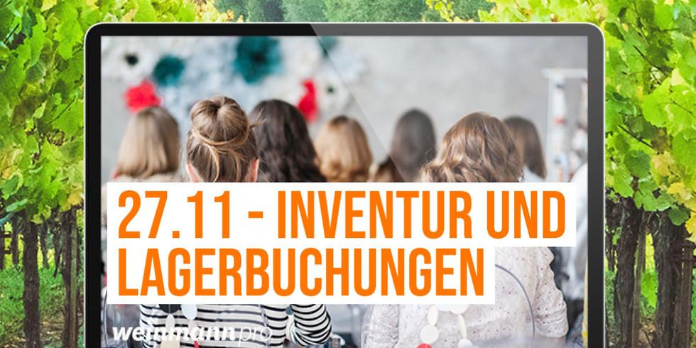 13:00 Uhr - 14:00 Uhr Webinar Inventur und Lagerbuchungen (29,00€)