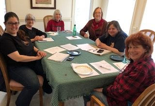 Image (from left to right): Jenn, Gail, Aileen, Judy, Dawn, and Linda