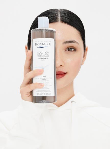 Brand: Byphasse Campaign: Carbon Micellar Solution