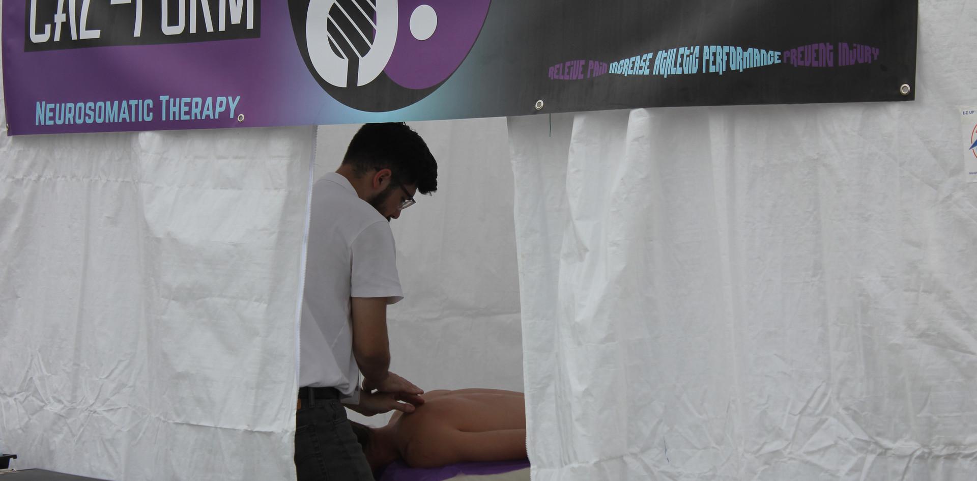 Back Treatment at the Mini O's